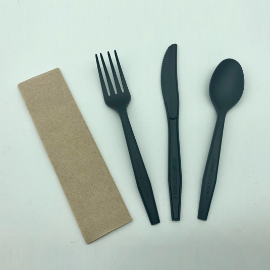 4 in 1 compostable utensils