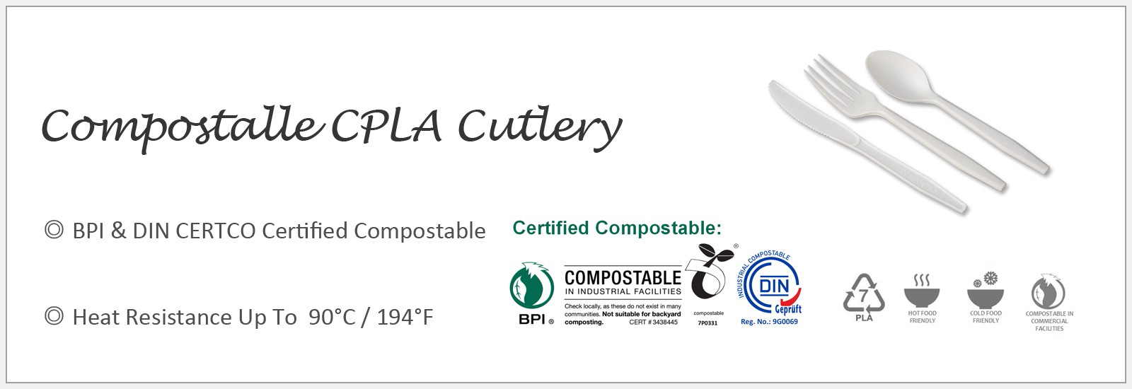 Compostable Aterimet