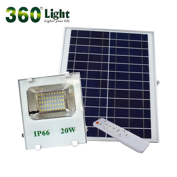 Solar Flood Light with Panel