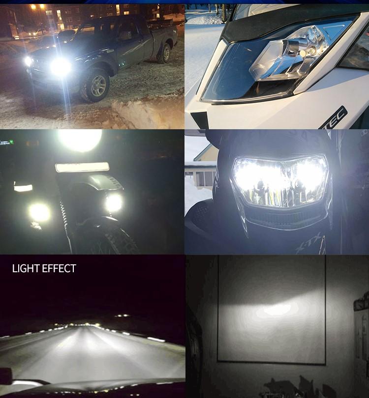 high brightness led headlamp