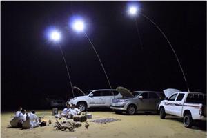 LED camping light application scenario