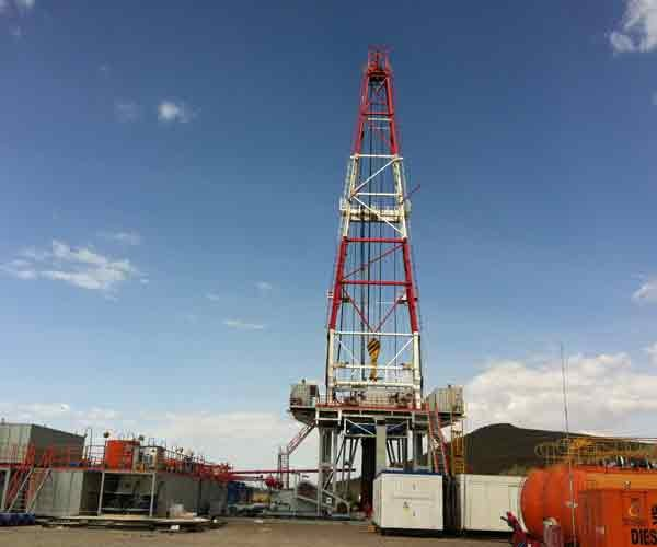 DC Drive Drilling Rig