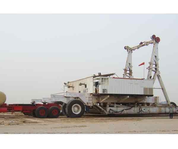 Integral Trailer-mounted Drill Rig