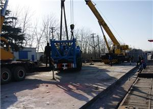 The truck mounted rig for low-temperature is shipped to russia