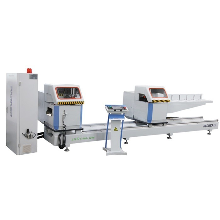 CNC Double Head Aluminium Cutting Machine