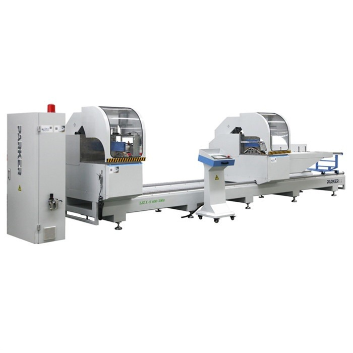 CNC Aluminium Double Head Cutting Machine