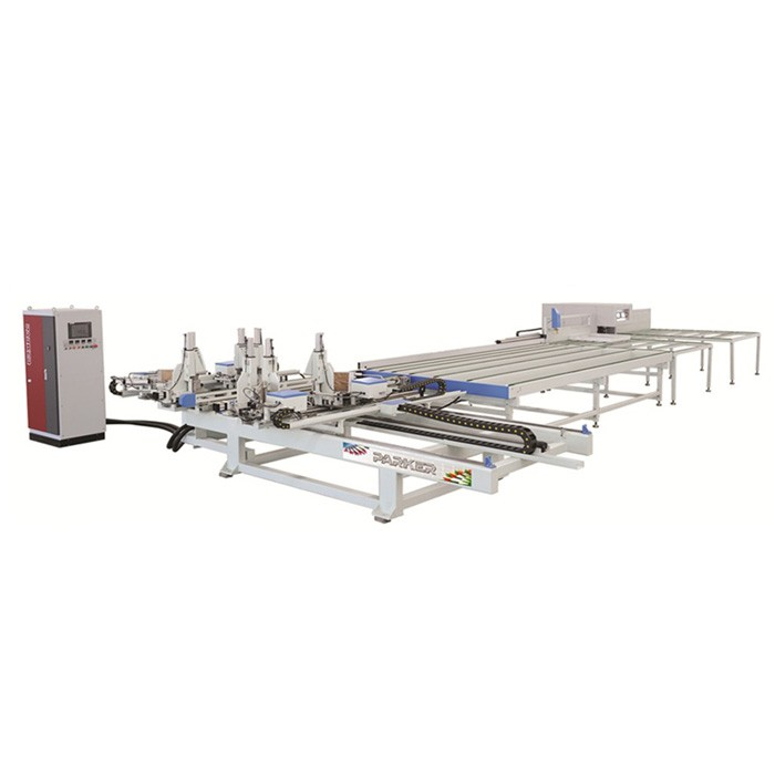 PVC Welding And Cleaning Production Line