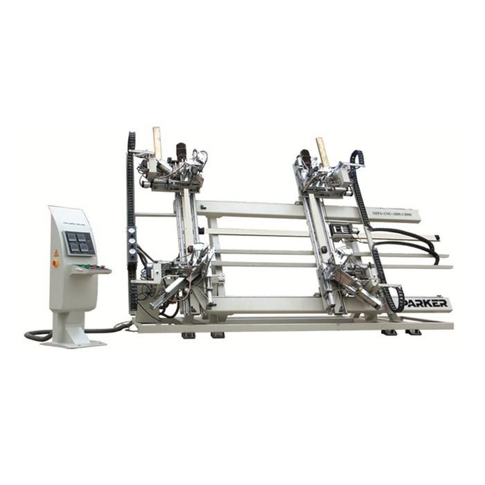 PVC CNC Vertical Four Corner Welding Machine