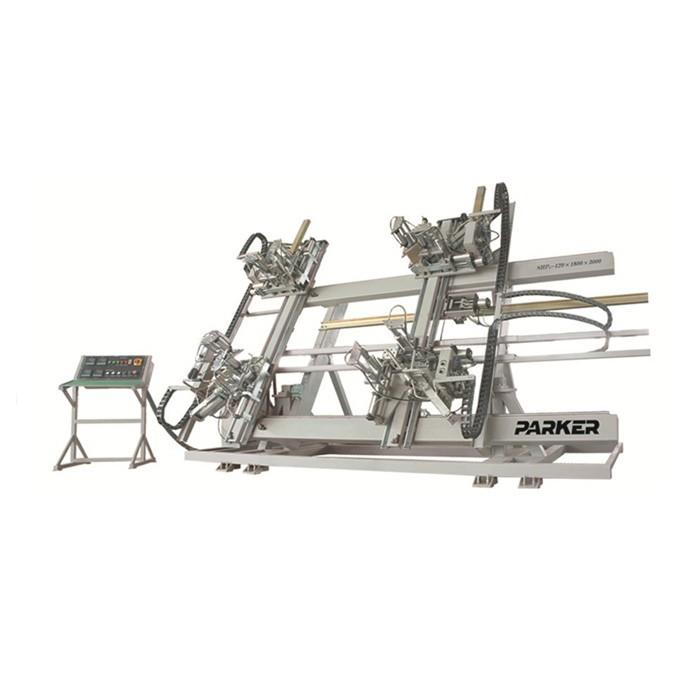 PVC Vertical Four Corner Welding Machine
