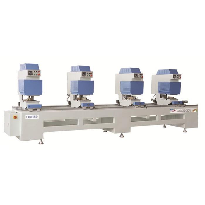 PVC Seamless Four Head Welding Machine