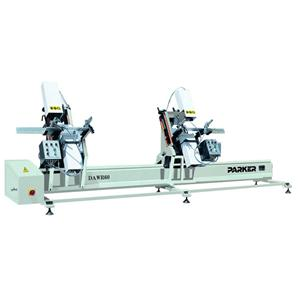 PVC Profile Double Heads Water Slot Routing Machine