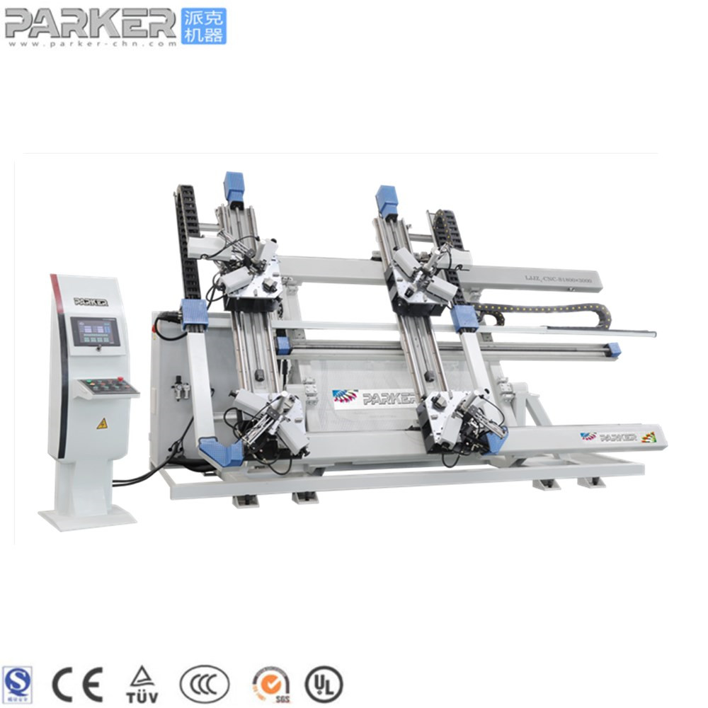 Aluminum window door machine