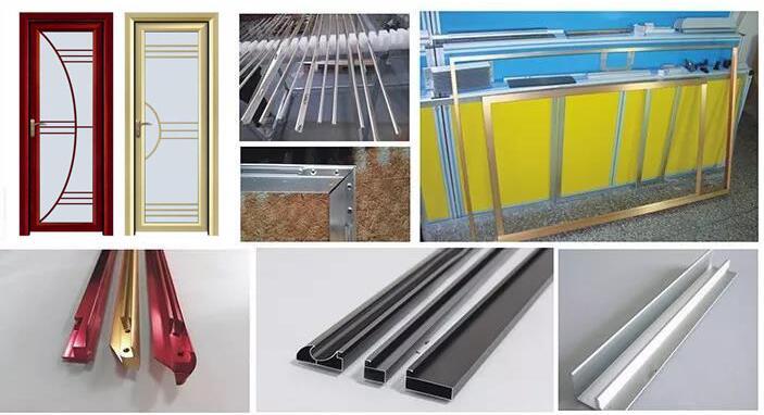 Aluminum Extrusion Rod Profile