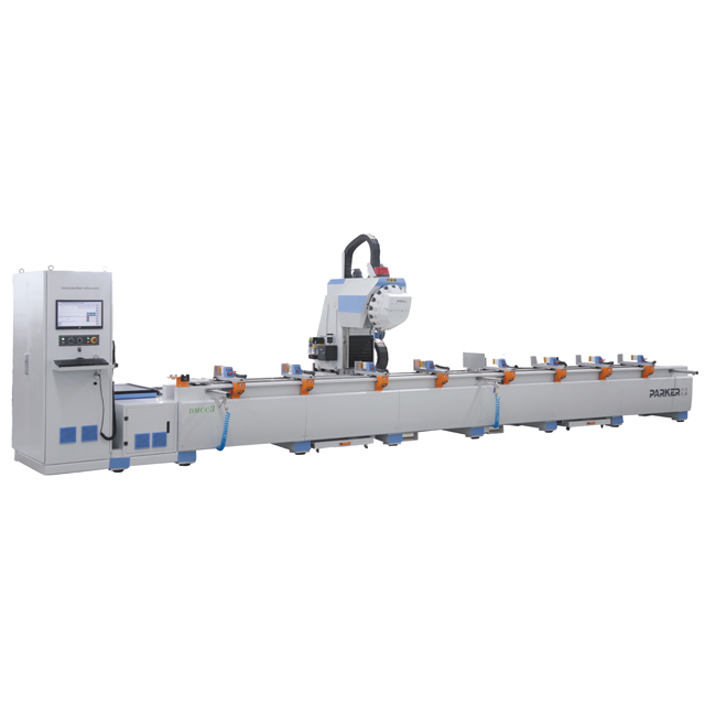 aluminum machine center