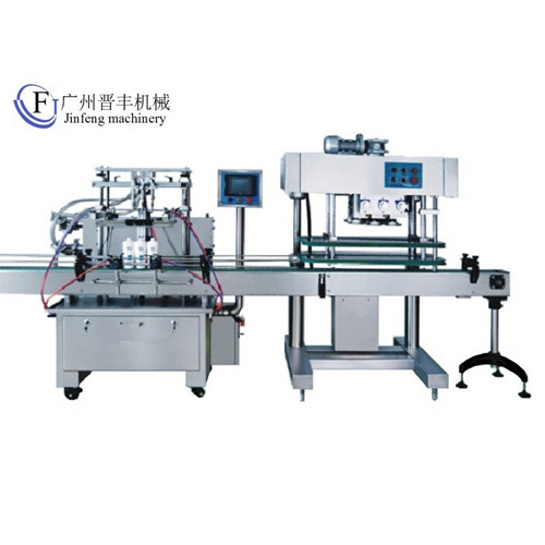 Linear Filling And Capping Machine