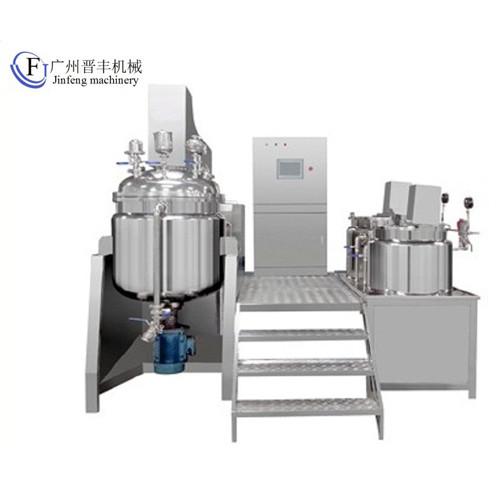 Tilting Internal And External Vacuum Homogenizer Emulsifier