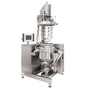 Vacuum Cream Cheese Homogenizing Emulsifier Machine