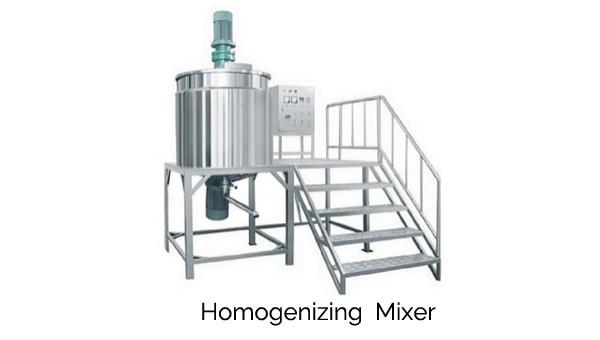 Homogenizing Mixer