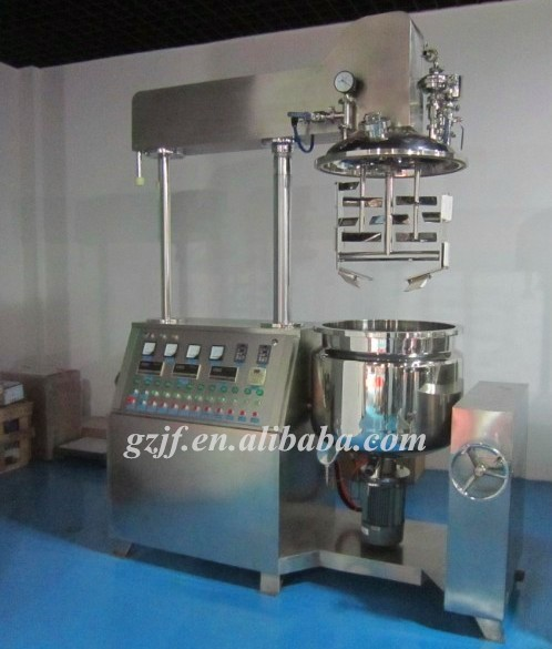 Matters needing attention in vacuum pumping of High Shear Emulsion Machine