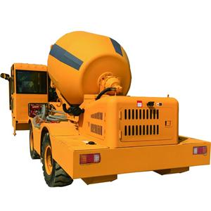 2.6 CBM Self Loading Mobile Concrete Mixer
