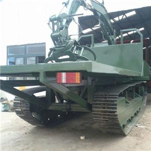 Crawler Dumper With Crane