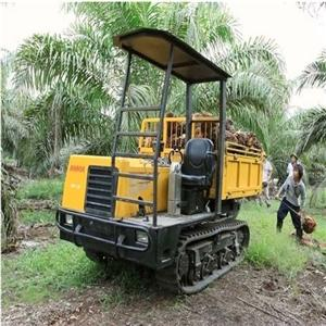 Palm Full Rubber Crawler Dumper