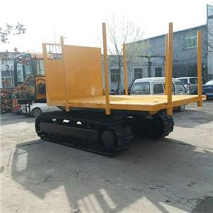 Crawler Dumper With Logger Crane