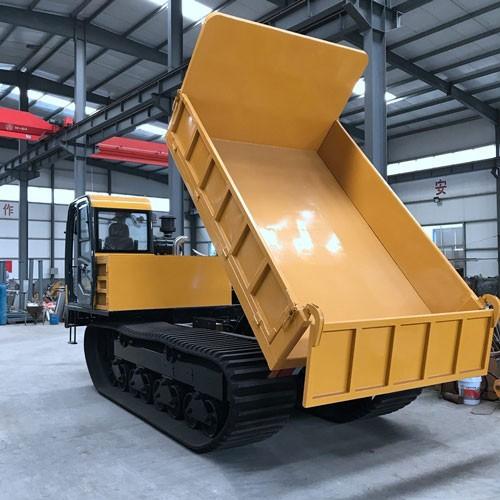 MST 1500 Full Rubber Truck Dumper