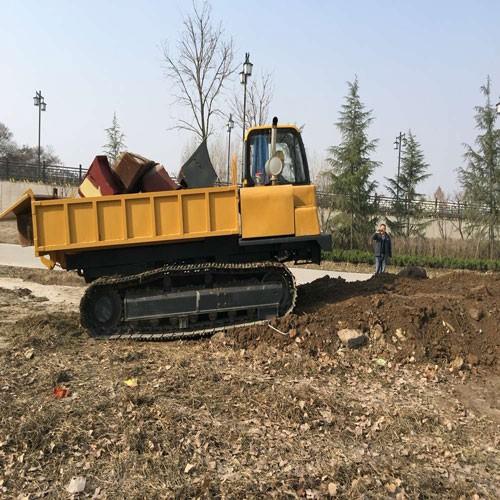 6 Tons Capacity Crawler Dumper Truck