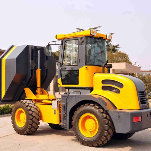 China Site Dumpers DP60 6TON Loading Capacity Hydraulic Mini Dumper