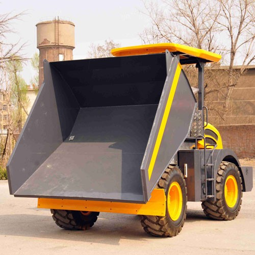 Wheel Loader Mini Dumper Truck Loading