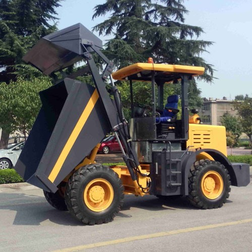 4000kg Site Dumper With Bulldozing Blade