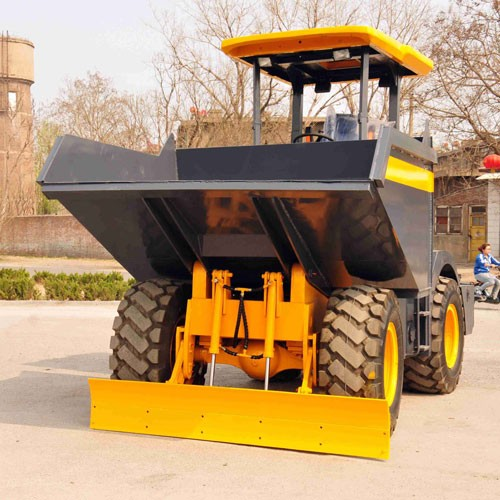 6000kg Site Dumper With Bulldozing Blade