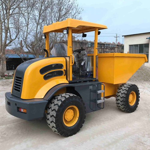 5 Ton And Canopy Self Loading Truck Site Dumper Trucks