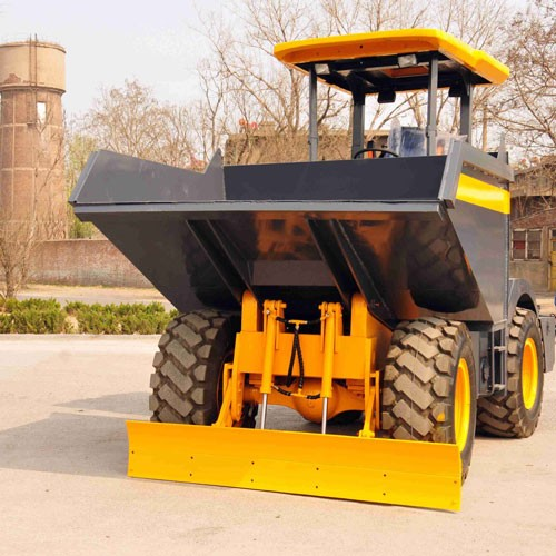 Wheel Site Dumper With Swing Bucket