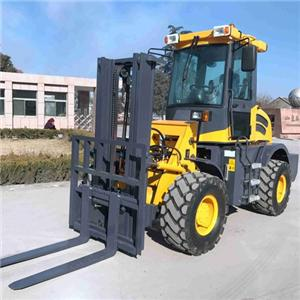 Large CPCY30 Articulated Offroad Forklift Price