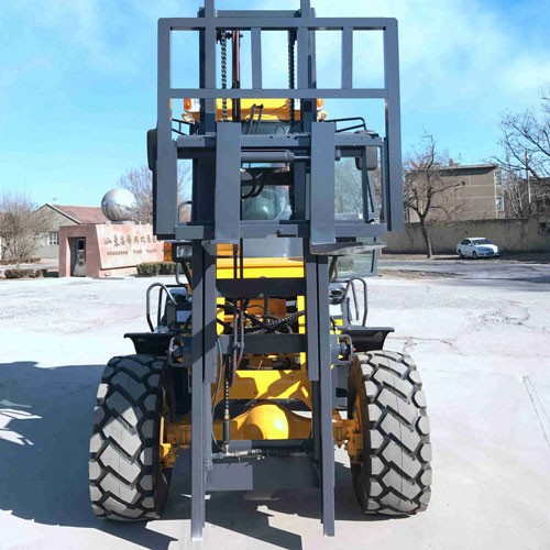 Rough Terrain Forklift CPCY30 With Side Shift 2 Mast 3m Cross Forklift