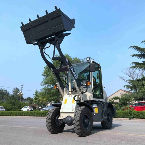 ZL-10 Wheel Loader With CE With Forklift And 4 In 1 Bucket