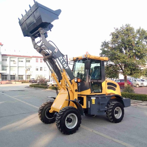 ZL-15 Wheel Loader With CE With Forklift And 4 In 1 Bucket