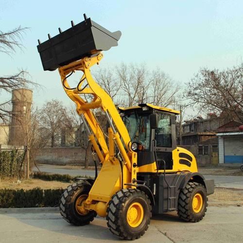 ZL-16 Wheel Loader With CE With Forklift And 4 In 1 Bucket