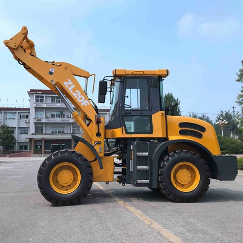 ZL-20Wheel Loader With CE With Forklift And 4 In 1 Bucket