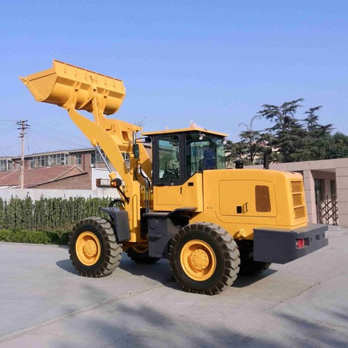 ZL-30 Wheel Loader With CE With Forklift And 4 In 1 Bucket