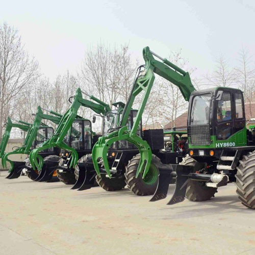 Sugarcane Grab Loader