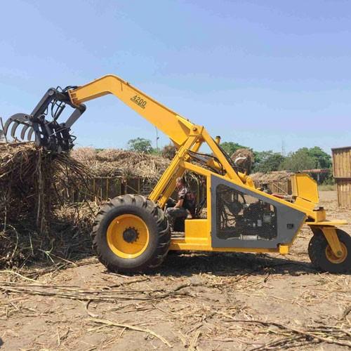 China Three Wheel Sugarcane Grab Loader
