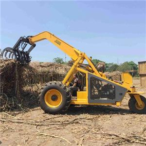 China Three Wheel Sugarcane Grab Loader