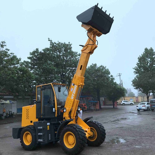 Mini Telescopic Loader With Different Model Attachments