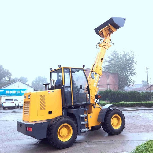 2000 Mini Telescopic Loader With Forklift
