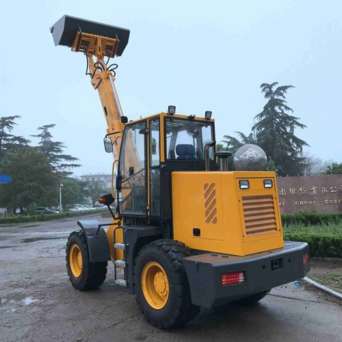 Mini Telescopic Loader Electric Wheel Loader With 1500KG Capacity