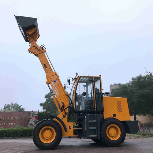 2 Tons Telescopic Boom Loader With CE Certification In Stock