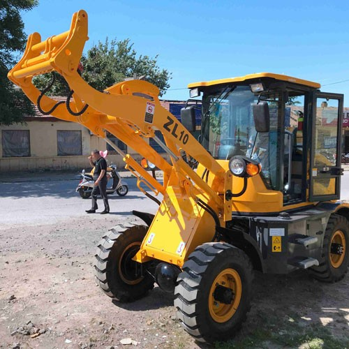 Handling Wheel Front-end Loader For Sale Loader Telescopic Wheel Loader